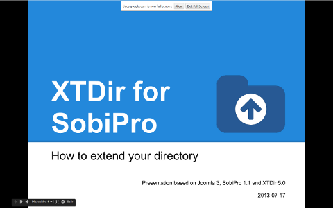 XTDir-How to extend your directory