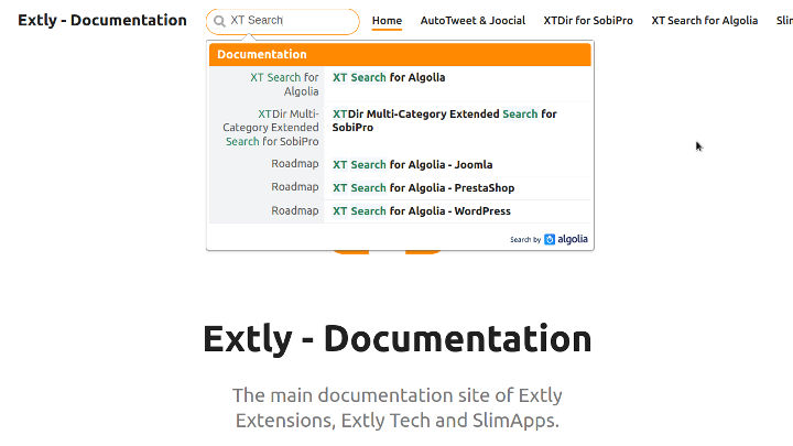 extly documentation 2018